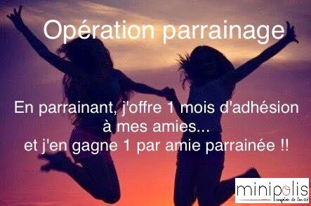 Offre parrainage Minipolis